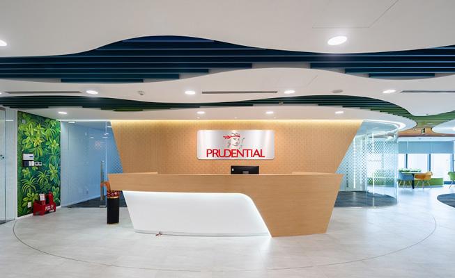 Sảnh văn phòng Prudential