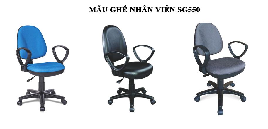 Mẫu ghế nhân viên SG550