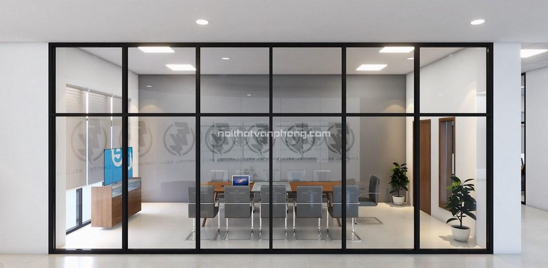 Thiết kế văn phòng công ty PowPlus