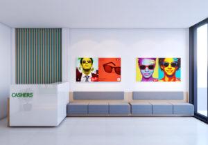 Thiết kế phòng khám mắt Phan Nga