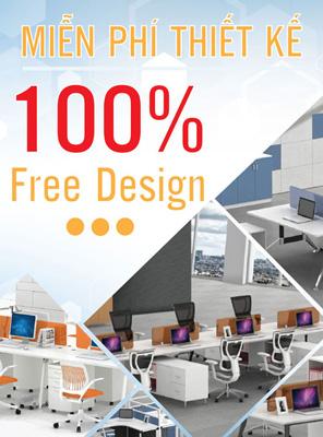 Thiết kế nội thất văn phòng miễn phí