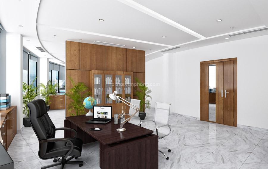 Thiết kế phòng giám đốc diện tích rộng