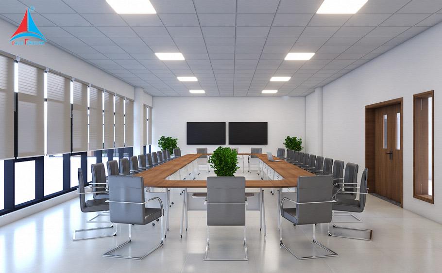 Văn phòng cần có điều kiện ánh sáng tốt