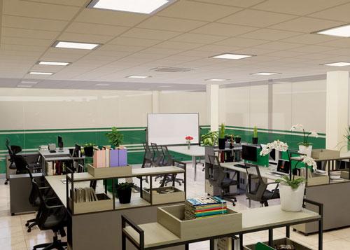 Thiết kế văn phòng công ty Tiên Hưng