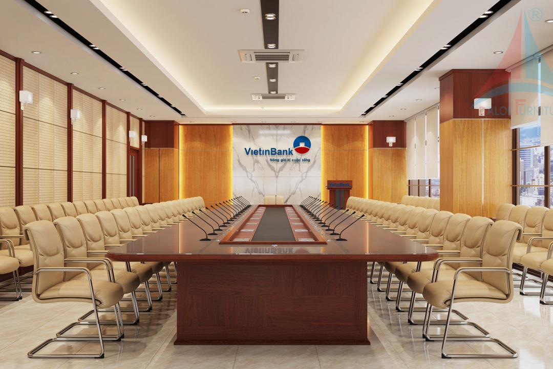 Thiết kế phòng hợp Viettinbank